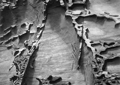 Seashore Erosion, Spain, 1971