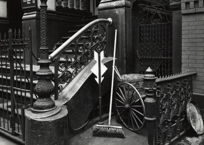 Stairway With Broom, 1945
