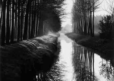 Canal, Holland, 1971