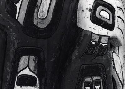Totem Pole Detail, 1977