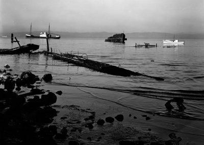 Shoreline And Boats, 1939