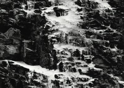 Ice On Rock Face, 1970